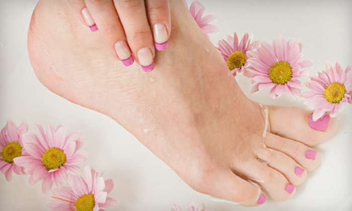 "Natural Nail Care ""Just For You"" - Lafayette: $29 for a Mani-Pedi and a Gift Bag at Natural Nail Care ""Just for You"" in Lafayette ($68 Value)"