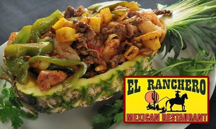 El Ranchero Mexican Restaurant - East Ridge: $10 for $20 Worth of Mexican Fare and Drinks at El Ranchero Mexican Restaurant in East Ridge