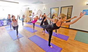 Quenby's Aesthetic Medicine and Wellness Center: $30 for One Month of Unlimited Yoga Classes — Quenby's Aesthetic Medicine and Wellness Center ($99 Value)