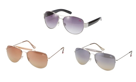 Betsey Johnson Aviator Sunglasses | Brought to You by ideel