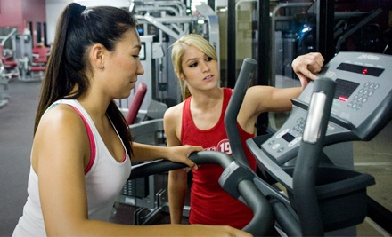 $19 for a Two-Month Gym Membership, Use of Kids' Room, and Two Personal Training Sessions at Fitness 19 ($180 Value)
