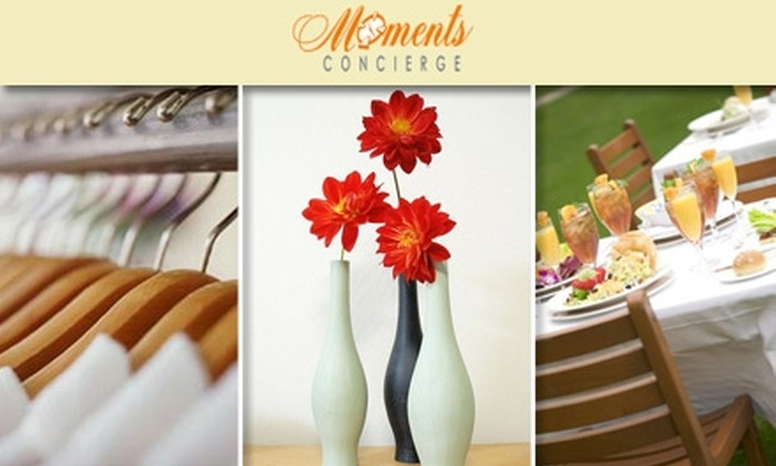 Moments Concierge - Washington DC: $25 for Three Hours of Personal Concierge Service with Moments Concierge ($105 Value)