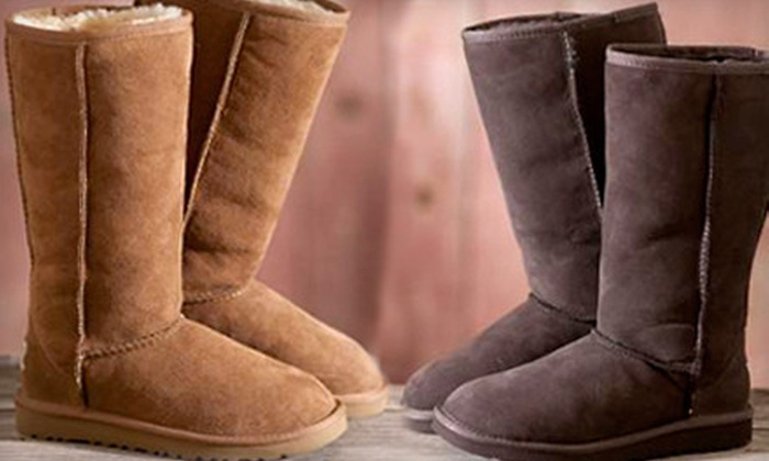 Overland Sheepskin Co.: $25 for $50 Worth of Clothes, Shoes, and Accessories from Overland Sheepskin Co.