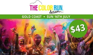 THE COLOR RUN: The Color Run™ Dream Tour - Entry for $43 (Plus Booking Fee), 16 July, Broadwater Parklands