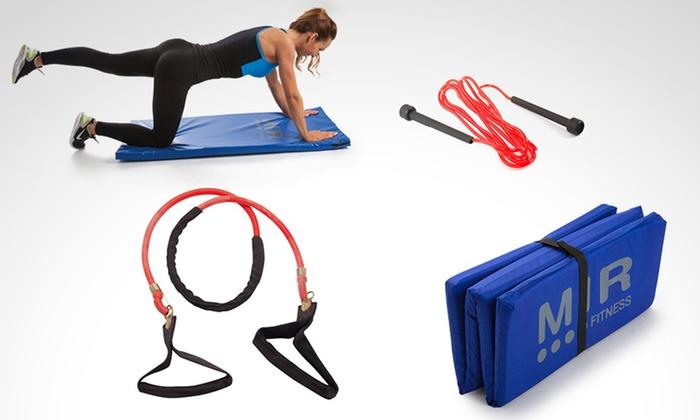 MIR Fitness - Múltiples sucursales: Desde $85 en vez de $110 por colchonetas, bandas y sogas MIR Fitness a elección con retiro en sucursal