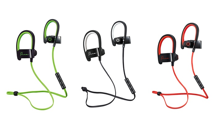 6971f76cf2edd7 Up To 55% Off on Pure Bluetooth Earbuds | Groupon Goods