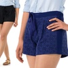 Sociology Women's Lace Shorts | Groupon Exclusive
