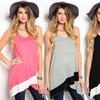 Women's Wrap-Front Sleeveless Tunic