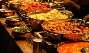 The Mahal: Menú hindú para dos de L-V y D o buffet libre con espectáculo de Bollywood V y S y D para dos desde 19,95 € en The Mahal