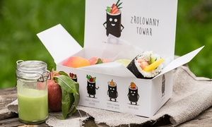 Suto: Rynek Główny lub Kazimierz: 2 wybrane rolki sushi za 19,99 zł i więcej opcji w Suto handroll  (do -43%)