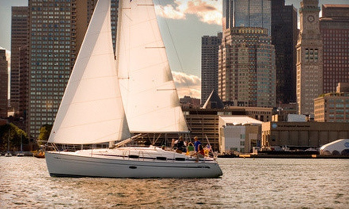 Boston Sailing Center - North End: Two-Hour Open-Water Sailing Lesson or Three-Hour Day or Sunset Sailing Trip from Boston Sailing Center (Up to 65% Off)