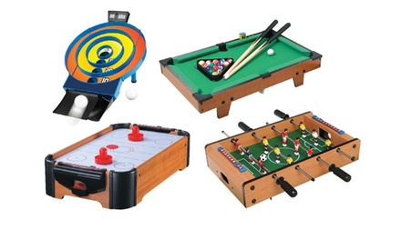 Cannonball Games Table-Top Game Set (4-Piece)