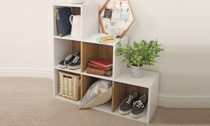top-rated-deal-icon         Top Rated Deal                                                                                                                                                                                                                                                                                                                                                                                                                       Eden Three-, Four-, Six- or Nine-Cube Bookcases