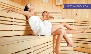 Mavi Area Squash & Fitness: Grota solna oraz Świat Saun: 3 wejścia za 39,99 zł i więcej w Mavi Area Squash & Fitness (do -39%)