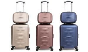 Set de 2 valises cabine et Vanity