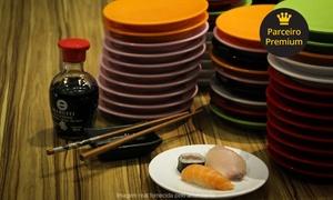 Kinoko: Kinoko – Buritis: rodízio de comida japonesa com sobremesa para 1 ou 2 pessoas