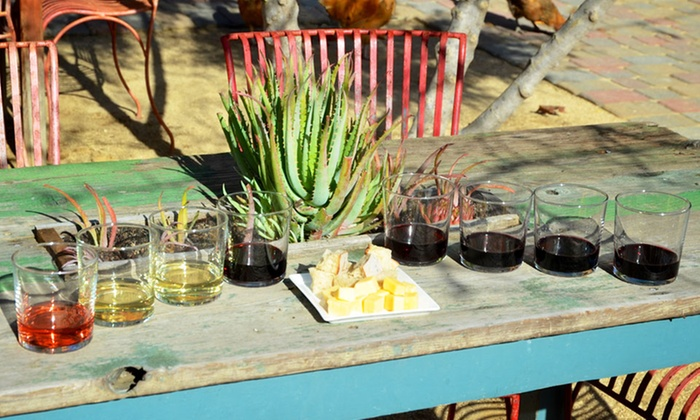 Cowgirl Winery - Carmel Valley Village: Wine Tasting with Bread and Cheese Tray for Two or Four, valid Monday–Friday at Cowgirl Winery (Up to 52% Off)