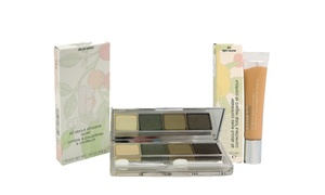 Clinique All About Eyes Concealer and All About Shadow Quads