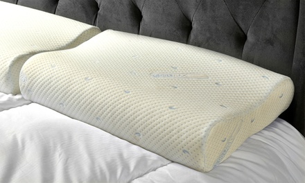 One or Two Coolmax or Contoured Memory Foam Pillows