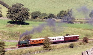 Embsay Steam Railway: Tickets for Two Adults or a Family of Four to the Embsay Bolton Abbey Steam Railway (50% Off)