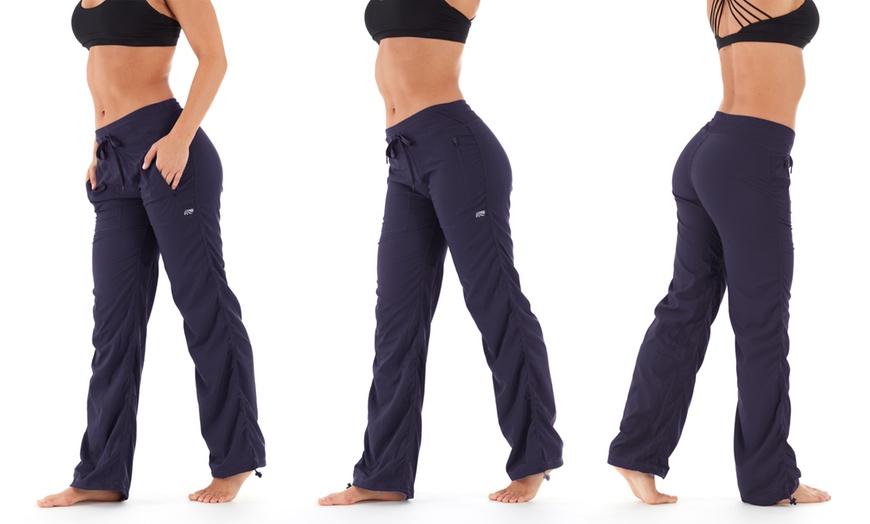 Marika womens Plus Size Eileen Woven Pant