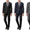 Verno Men's 100% Wool Classic Fit Suit (2-Piece)