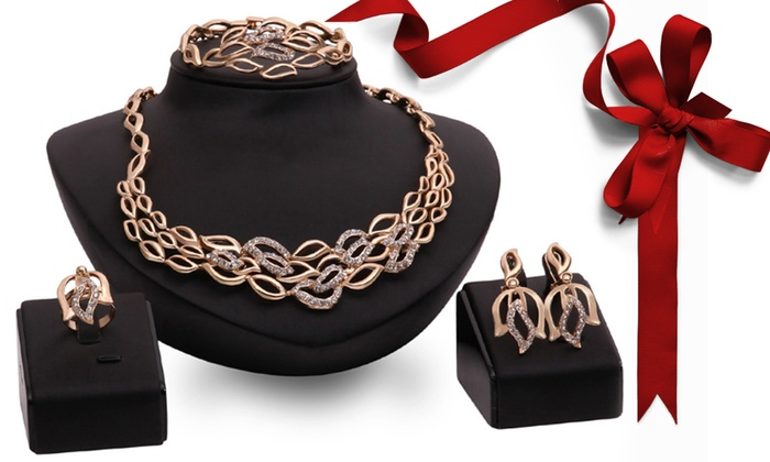 Lotus flower jewellery set groupon lotus flower jewellery set mightylinksfo