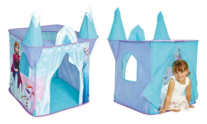 tentes jeu de r le pop up reine des neiges et pat 39 patrouille groupon shopping. Black Bedroom Furniture Sets. Home Design Ideas
