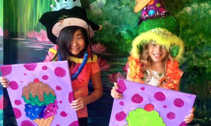 Kids' Summer Paint Camp at Masterpiece Mixers Paint & Party Studio (Up to 36% Off). Eight Options Available.