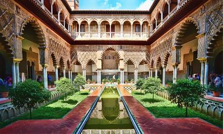 Granada: 1 o 2 noches para 2 con desayuno, champagne y opción cena, mariscada y/o visita a la Alhambra en Hotel Poniente