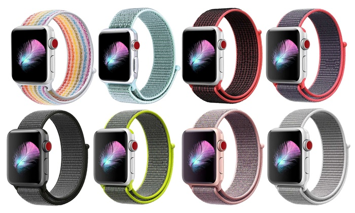 48a45127fc Up To 71% Off on Sports Band for Apple Watch | Groupon Goods