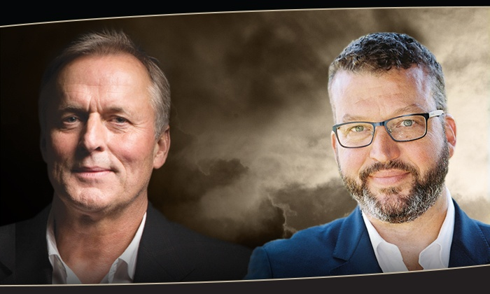 Thrillers! An Evening with John Grisham and John Hart - Duke Energy Center for the Performing Arts: Thrillers! An Evening with John Grisham and John Hart on Friday, February 23, at 7:30 p.m.