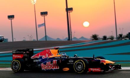 Formule 1: 2 tickets voor een Grand Prix naar keuze inclusief verblijf p.p.