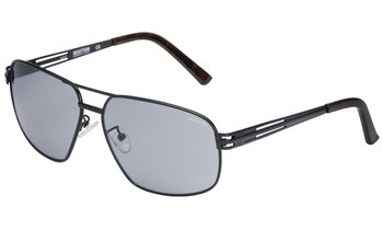 Kenneth Cole Reaction Men's Black Metal Aviator Sunglasses