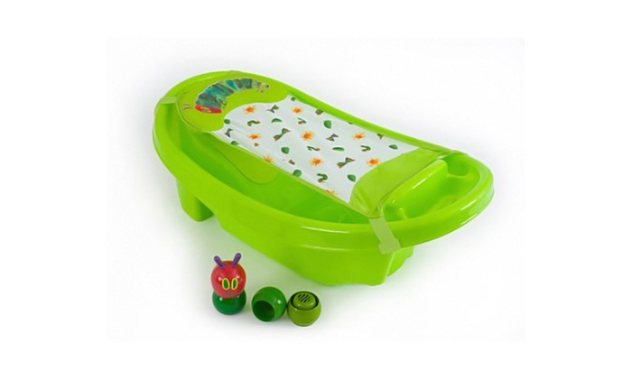 very hungry caterpillar bath tub groupon goods. Black Bedroom Furniture Sets. Home Design Ideas