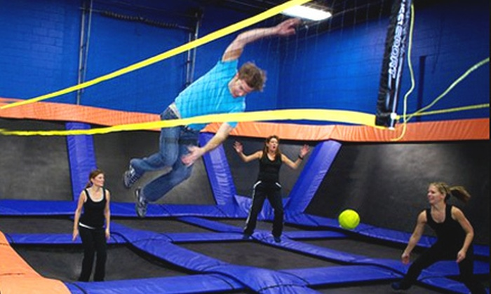 Sky Zone Indoor Trampoline Park - Chesterfield: $14 for 60 Minutes of Jump and Foam Zone Time for Two at Sky Zone Indoor Trampoline Park ($28 Value)