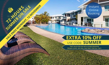 Port Stephens: 2, 3, or 7Night Getaway for Two or Four People at Oaks Pacific Blue