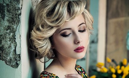 image for Half-Head Highlights or Full-Head Colour With Cut and Blow-Dry for £25.95 at KB Salon (Up to 62% Off)