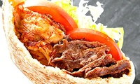 【最大38%OFF】ジューシーでスパイシーな、中東のソウルフード≪4種から選べるケバブサンド/他1メニュー≫ @LUCKY Kebab