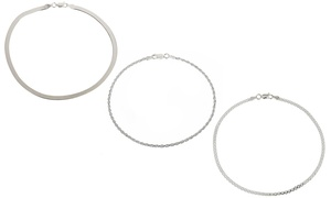Anklets in Italian Sterling Silver at Anklets in Italian Sterling Silver, plus 6.0% Cash Back from Ebates.