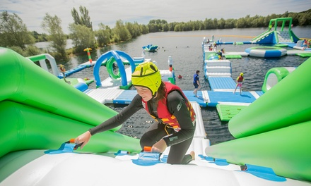 Aqua Park Session for One, Two or Four at Oxford Aqua Park