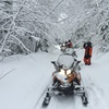 Guided Excursion in Snowmobile or Snow Quad