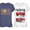 Star Wars Episode VIII The Last Jedi Juniors' T-Shirt
