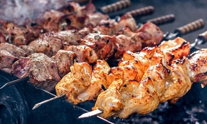 Sugar N Spice: $69 for All-You-Can-Eat BBQ Lunch or Dinner with Sides and Wine for Two People at Sugar N Spice (Up to $136 Value)