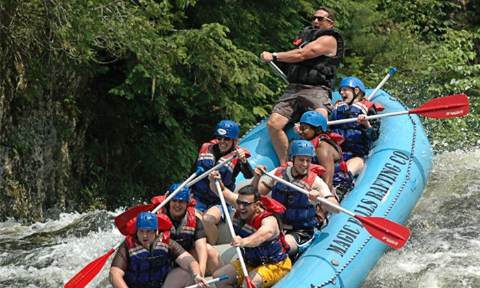 Magic Falls Rafting Company - West Forks: Kennebec River Trip for One or Two from Magic Falls Rafting Company (Up to 49% Off)