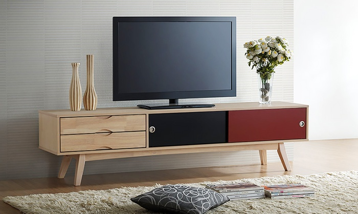 Scandinavian Inspired TV Stand