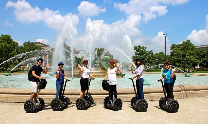 Segway Tours by Wheel Fun Rentals - Philadelphia: 3-Hour Full City Tour or a 1.5-Hour Old City Historic Tour from Segway Tours by Wheel Fun Rentals (50%Off)