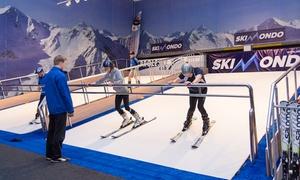 SkiMondo: Lekcje jazdy na nartach na bieżni narciarskiej od 31,99 zł w SkiMondo w Gdańsku (do -39%)