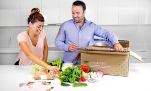 MissFresh: 1- or 2-Week Subscription of Three Meals for Two or Four People from MissFresh (Up to 55% Off)