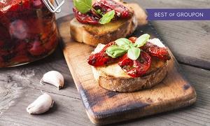 D-Lake: Aperitivo con buffet e tris di piatti regionali serviti al tavolo al ristorante D-Lake, lago di Como (sconto fino a 56%)
